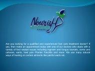 nourish footcare
