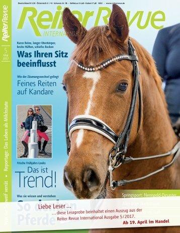 ReiterRevue-05/2017
