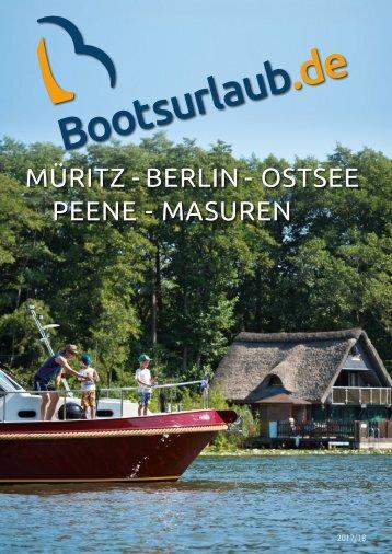Bootsurlaub.de Katalog 2017/2018