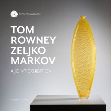 Tom Rowney and Zeljko Markov, a joint exhibition