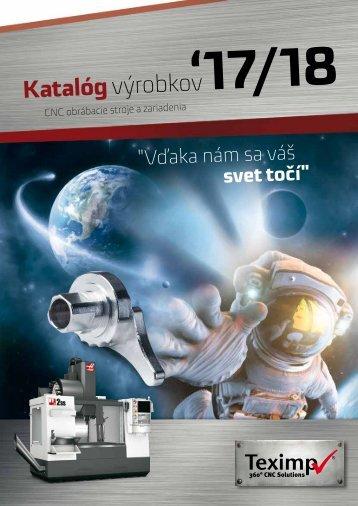 Teximp Product guide Slovakia