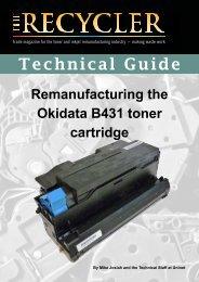 TG - Okidata B431 toner cartridge