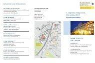 1. Adipositas Symposium - Franziskus Hospital Bielefeld