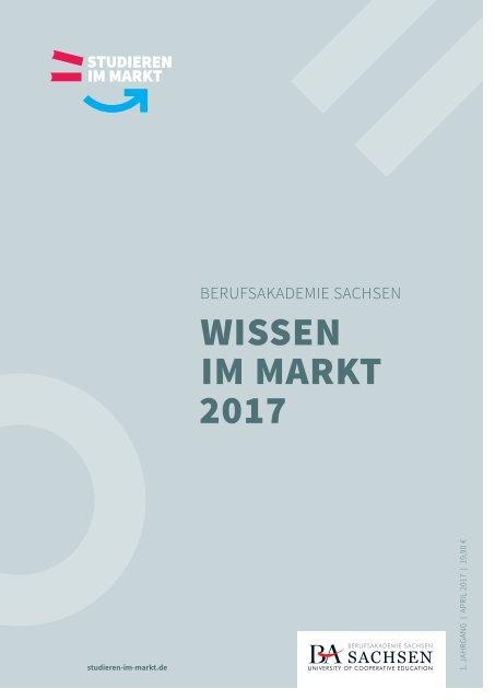 Berufsakademie Sachsen | Wissen im Markt 2017