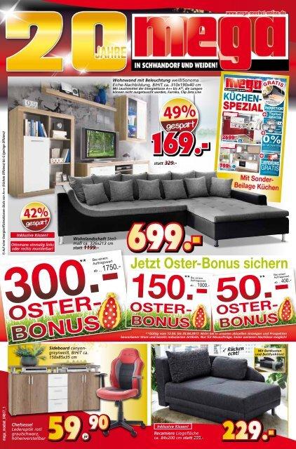 Osterbonus Bei Mega Möbel In Schwandorf Und Weiden Riesen Oster