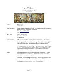 Page 1 of 7 History 128 Modern Latin America ... - Moravian College