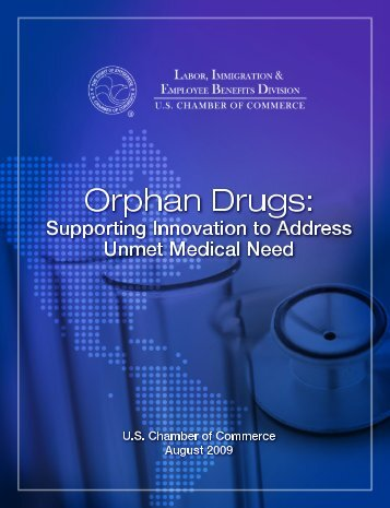 Orphan Drugs - US Chamber of Commerce
