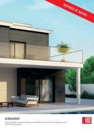 VOX KERRAFRONT Fassadenverkleidungen