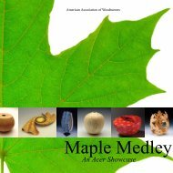 Maple Medley - An Acer Showcase - Gallery of Wood Art