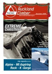 The Auckland Climber - New Zealand Alpine Club