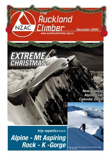 The Auckland Climber - New Zealand Alpine Club