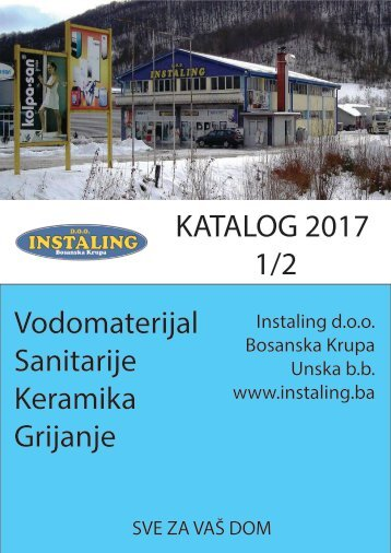 Katalog 2017 1/2 - Instaling d.o.o