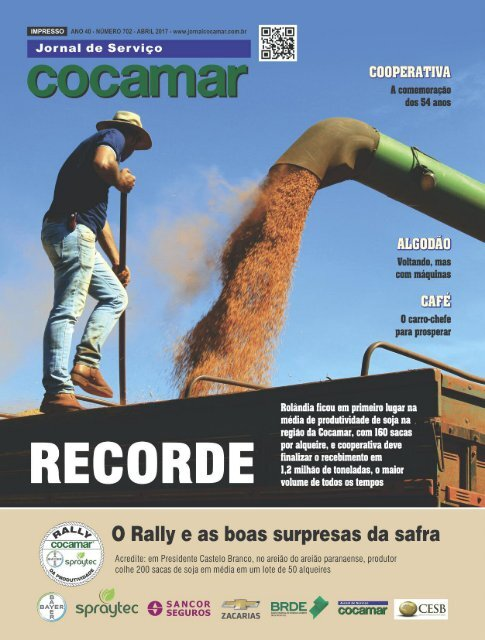 Jornal Cocamar Março Novo 2017