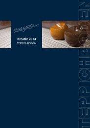 MEGA Teppichboden Kreativ Kollektion