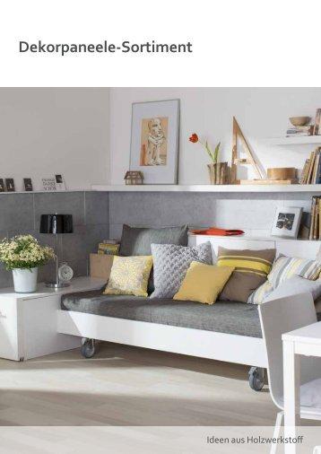 Dekorpaneele / Decken & Wandverkleidungen Kollektion