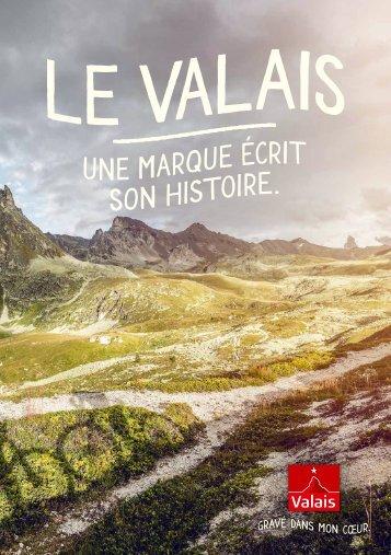 Brochure marque Valais