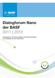 Dialogforum Nano der BASF Mitglieder - BASF.com