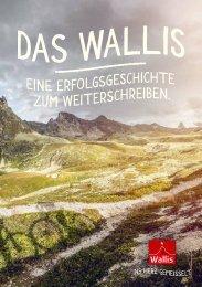 Broschüre der Marke Wallis