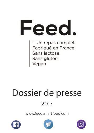 Dossier de Presse Feed Officiel PDF