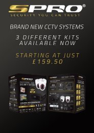 SPRO CCTV Systems