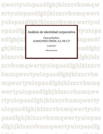 Análisis de identidad corporativa 2017 Simán (1)