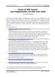 Charts im PDF-Format - neue Möglichkeiten mit ... - Heads for SAS