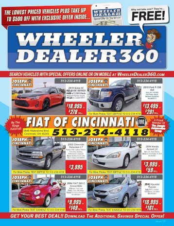 Wheeler Dealer Issue 15, 2017