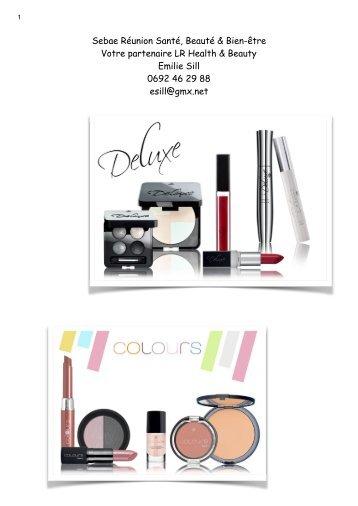 Catalogue LR maquillage & beauty La Réunion
