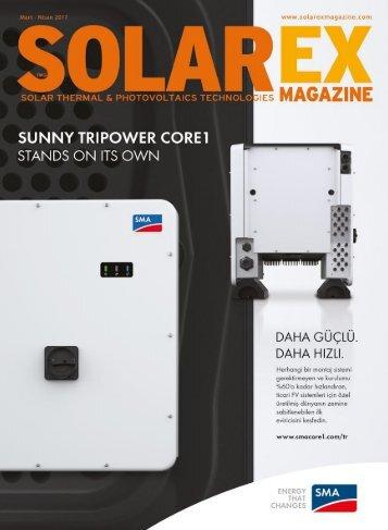 Solarex Magazine Mart - Nisan 2017 Sayısı