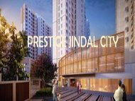 Prestige Jindal City | Best Residential Apartments In Tumkur Road