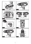 Makita Perceuse visseuse à percussion 18 V Li-Ion 5 Ah Ø 13 mm (3 batteries) - DHP482RT3J - Notice - Page 2