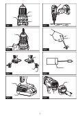 Makita Perceuse visseuse à percussion 18 V Li-Ion 5 Ah Ø 13 mm (3 batteries) - DHP482RT3J - Notice - Page 3