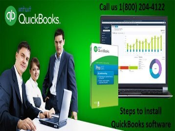 Steps to Install QuickBooks Software 18002044122