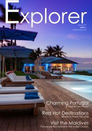 Explorer Magazine - Baxter Hoare Travel