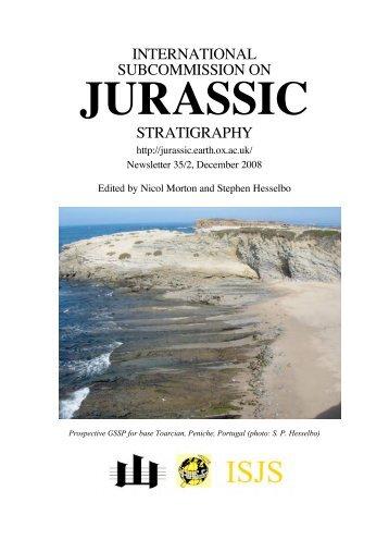 jurassic - The International Subcommission on Jurassic Stratigraphy