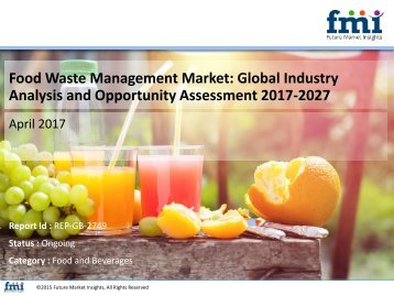Food Waste Management Market