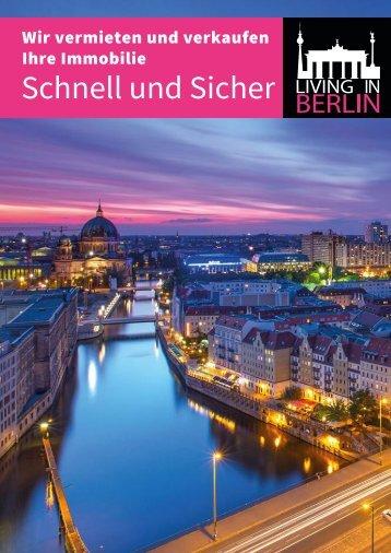 Living in Berlin Image Broschuere 2017