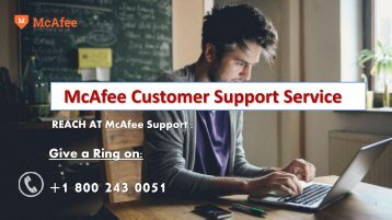 How to Fix McAfee Antivirus Error 7305 | McAfee Support 1800-448-1840