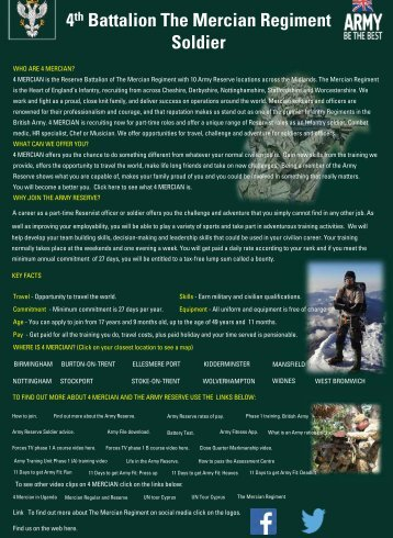 4 MERCIAN Soldier Information V2