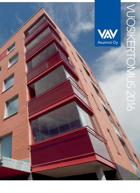 VAV vuosikertomus 2016