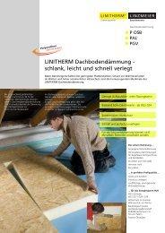 LINZMEIER Dachbodendämmung