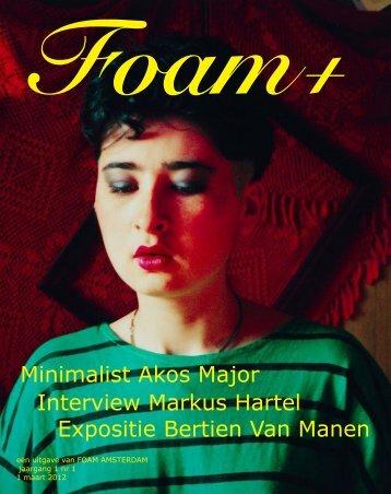 magazine foam