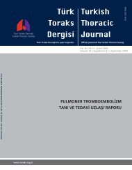 Pulmoner Tromboembolizm Tanı ve Tedavi Uzlaşı Raporu (2009)