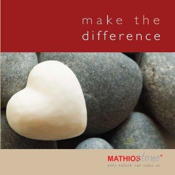 MathiosStone Steinwände / Verblendsteine
