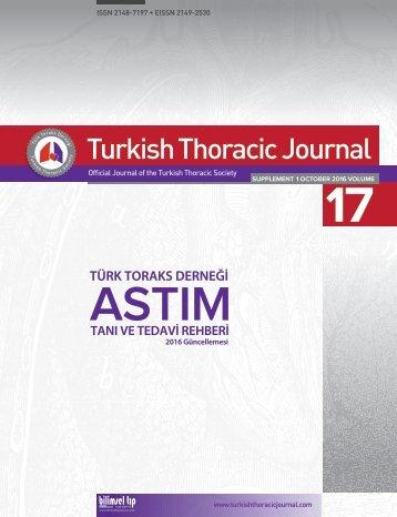 TTD Astım Tanı ve Tedavi Rehberi 2016