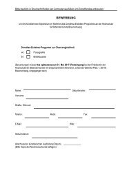Bewerbungs-Formblatt Dorothea Erxleben Programm 2017