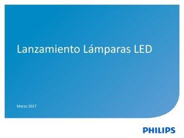 Lanzamientos Lámparas - Marzo 17