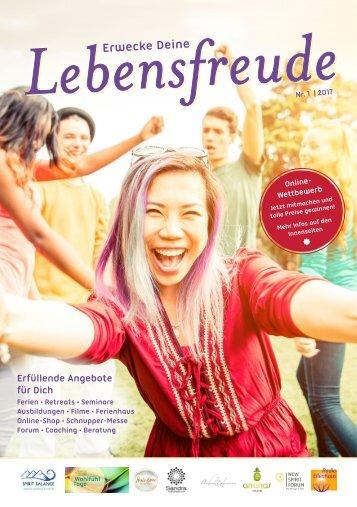 Online Lebensfreude Magazin 2017