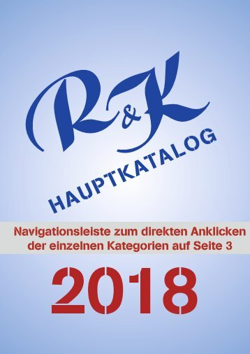 2018 Hauptkatalog